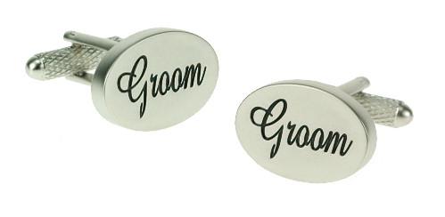 Cufflinks - Chrome Groom Wedding - Cufflink Superstore Ireland ...